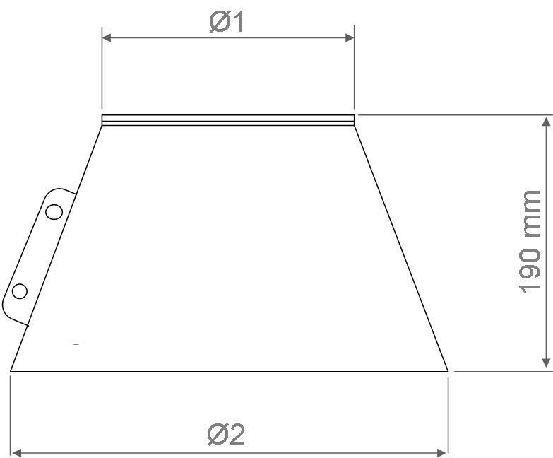 Collerette pour solin 150mm r f conduits de fum e - Reducteur cheminee 200 150 ...