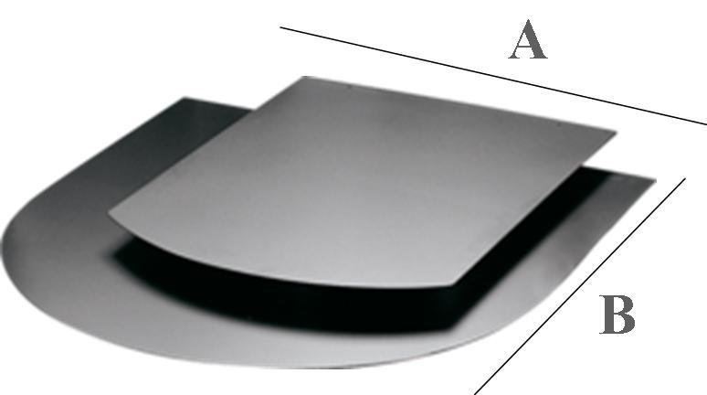 Plaque de protection au sol r f chauffage accessoires chauffage spray espace po le - Plaque acier protection poele ...