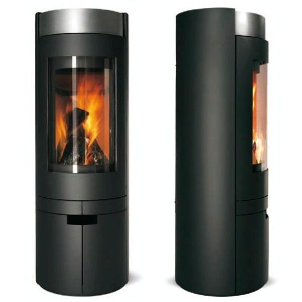 Zio r f chauffage po les bois design espace po le scandinave - Poele a bois design prix ...