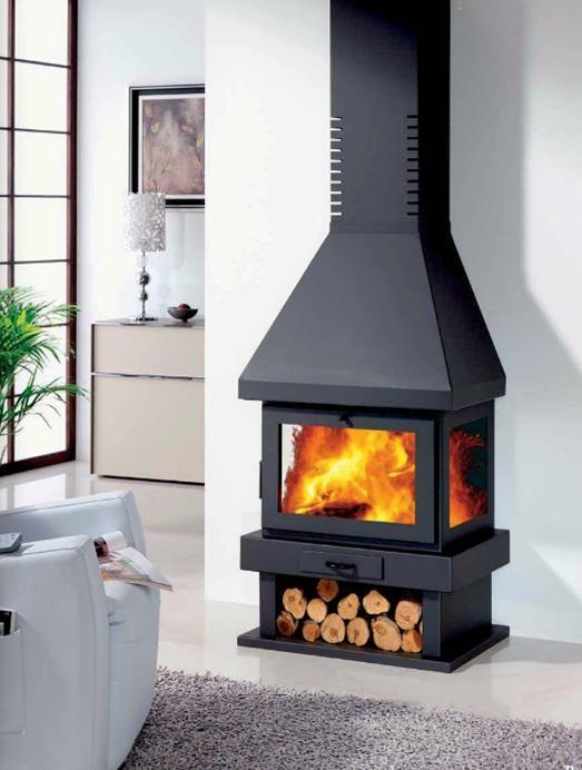 chemin e m tallique canada r f chauffage po le gamme co chemin es m talliques inserts. Black Bedroom Furniture Sets. Home Design Ideas