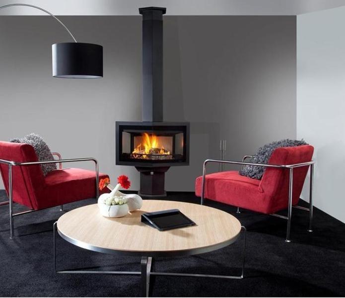 black diamond compact r f chauffage po les bois po le bois encastrable espace. Black Bedroom Furniture Sets. Home Design Ideas