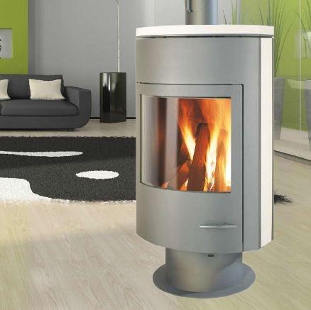 po le bois ganz rumba r f chauffage po les bois contemporain espace po le. Black Bedroom Furniture Sets. Home Design Ideas