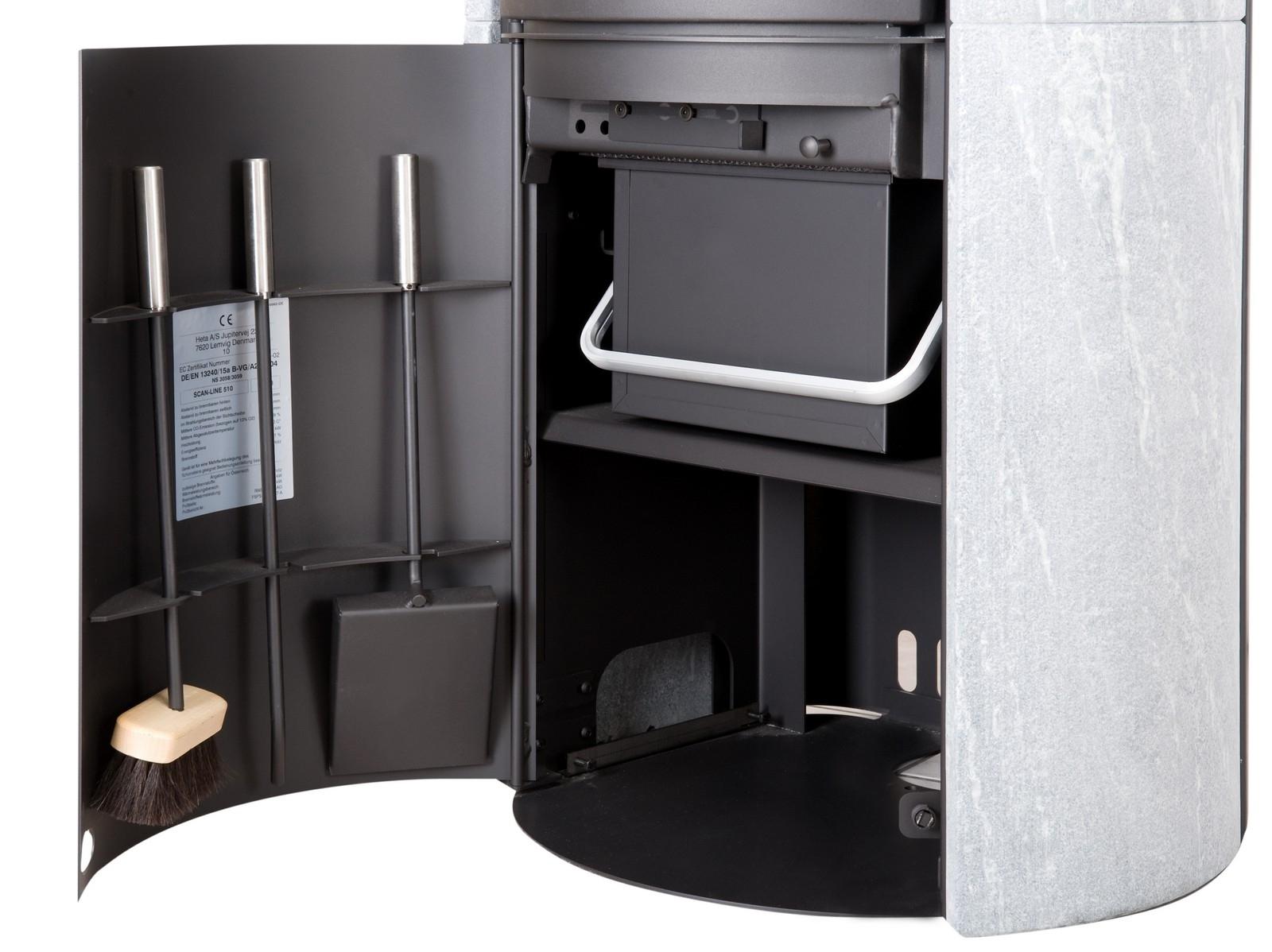 heta sl 820 ollaire r f chauffage po les bois accumulation espace po le scandinave. Black Bedroom Furniture Sets. Home Design Ideas