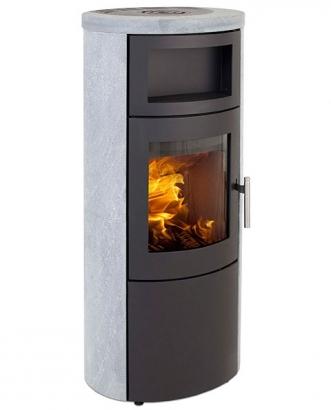 Heta sl 820 r f chauffage po les bois standard for Poele a bois avec chauffe plat