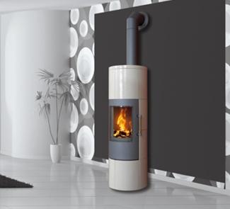 po le bois ganz blues r f chauffage po les bois. Black Bedroom Furniture Sets. Home Design Ideas