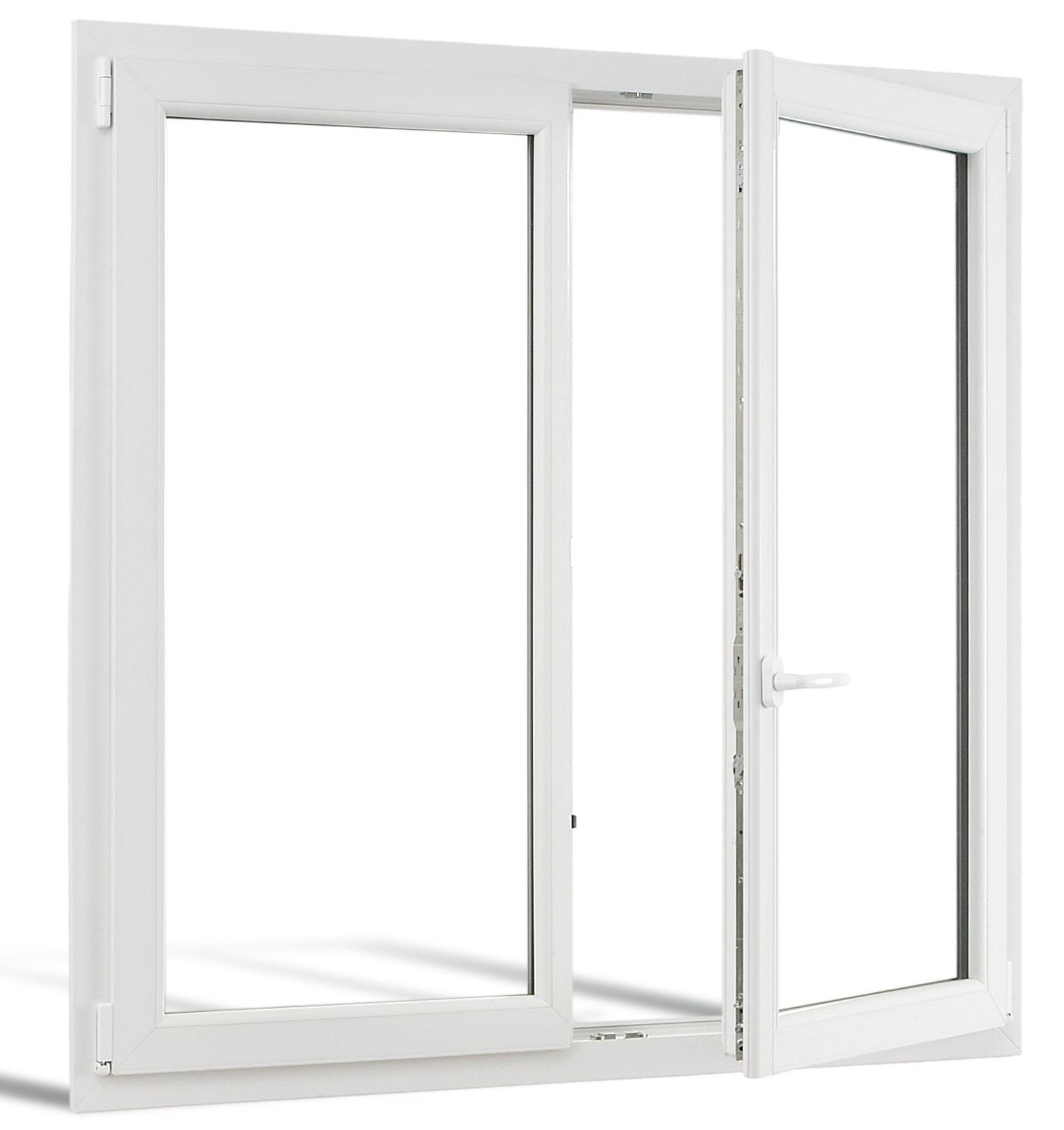 Fen tre pvc grosfilex r f fen tres portes for Fenetre en pvc blanc
