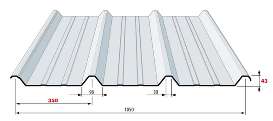 T le translucide longueur 6 m tres r f for Tole de couverture