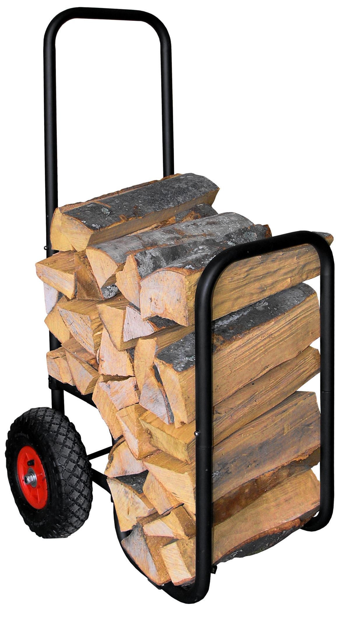 Caddie bois r f id es cadeaux paniers et chariots bois espace po - Panier pour le bois de cheminee ...