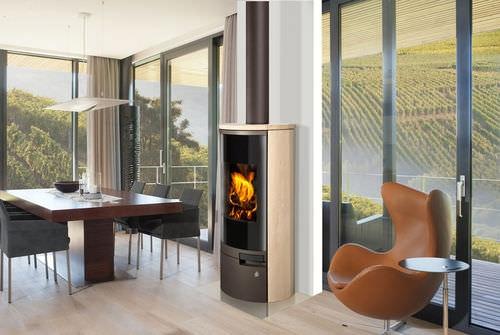 belorado gr s r f chauffage po les bois contemporain espace po le scandinave. Black Bedroom Furniture Sets. Home Design Ideas