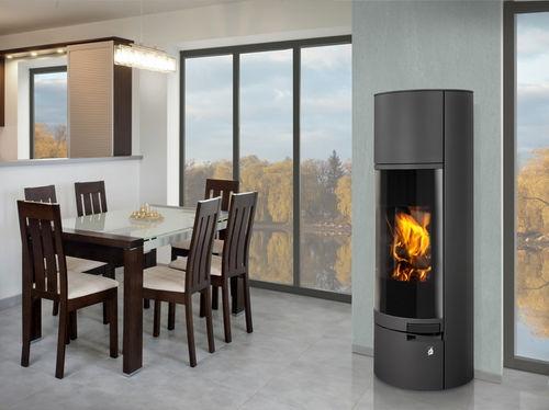 belorado accumulation acier r f chauffage po les bois contemporain espace po le. Black Bedroom Furniture Sets. Home Design Ideas