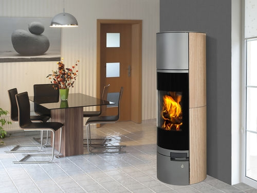 belorado accumulation gr s r f chauffage po les bois contemporain espace po le. Black Bedroom Furniture Sets. Home Design Ideas
