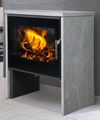 riano ollaire r f chauffage po les bois contemporain espace po le scandinave. Black Bedroom Furniture Sets. Home Design Ideas