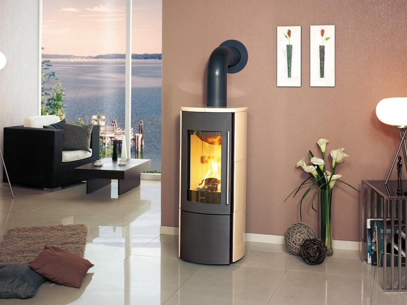 hark 105 ecoplus fa ence r f chauffage po les bois contemporain espace po le scandinave. Black Bedroom Furniture Sets. Home Design Ideas