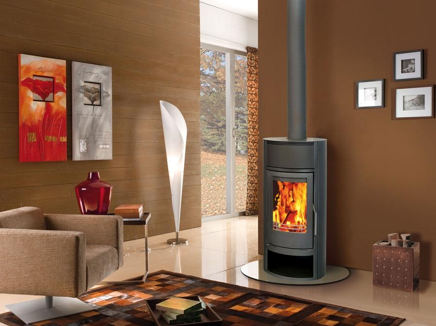 nf20 acier r f chauffage po les bois contemporain espace po le scandinave. Black Bedroom Furniture Sets. Home Design Ideas