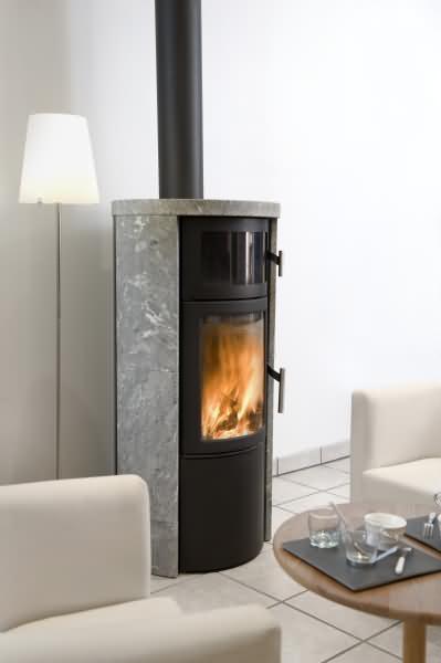 Heta sl 520 r f chauffage po les bois standard for Chauffage poele a bois