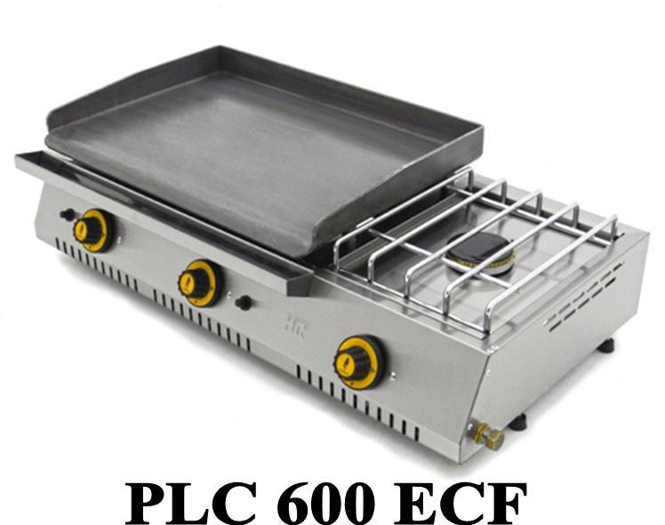 Plancha gaz avec r chaud fainca plc 600 r f cuisine professionnelle pour tous planchas - Faire une plancha entre amis ...